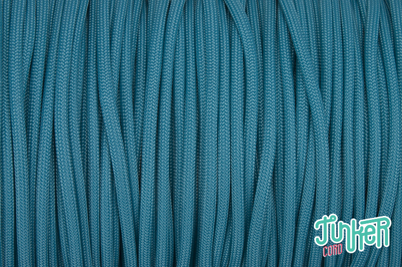 CUSTOM CUT Type III 550 Cord in color NEON TURQUOISE