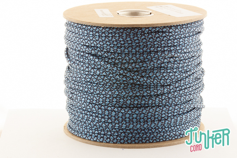 150m Spool Type II TINKER Cord in color NAVY BLUE & BABY BLUE DIAMONDS