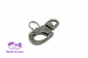 Snap Shackle with rolling swivel 12mm x 65mm stainless steel